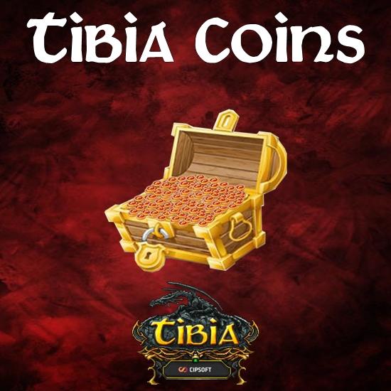 250 Tibia Coins - Mínimo 40x (10000TC)